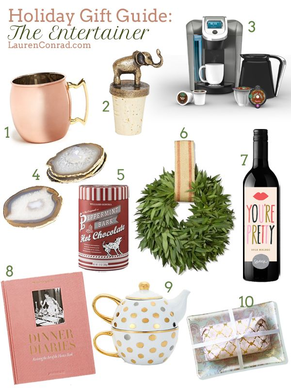 Holiday Gift Guide: For the Entertainer {all amazing gift ideas!}