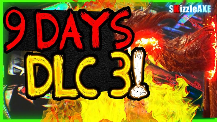 DLC 3 Talk, Black Ops 3 ZOMBIES Gorod Krovi Dragon Wonder Weapon - 9 Days Till NEW Black Ops 3 DLC 3
