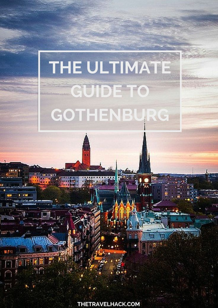 Ultimate Guide to Gothenburg, Sweden -- must read for the next time I visit!