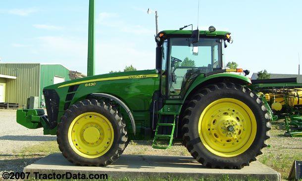 John Deere 8430... My new composting tractor..!! (: