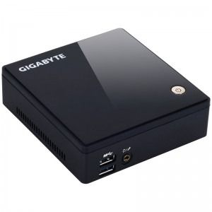 GIGABYTE BRIX, Broadwell i5 5200U 2.2GHz, 2x DDR3 16GB max, mSATA, Wi-Fi, Bluetooth, HDMI, Mini DisplayPort, USB 3.0