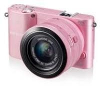 Samsung NX1000 Digital Camera - Pink