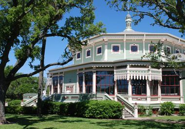 """In February 1876, a group of German businessmen organized the Galveston Garten Verein (""""garden club"""") as a social club for family and friends. Only Germans or German speakers could hold stock in the club, but others could petition for membership. National Register of Historical Buildings in Galveston"""