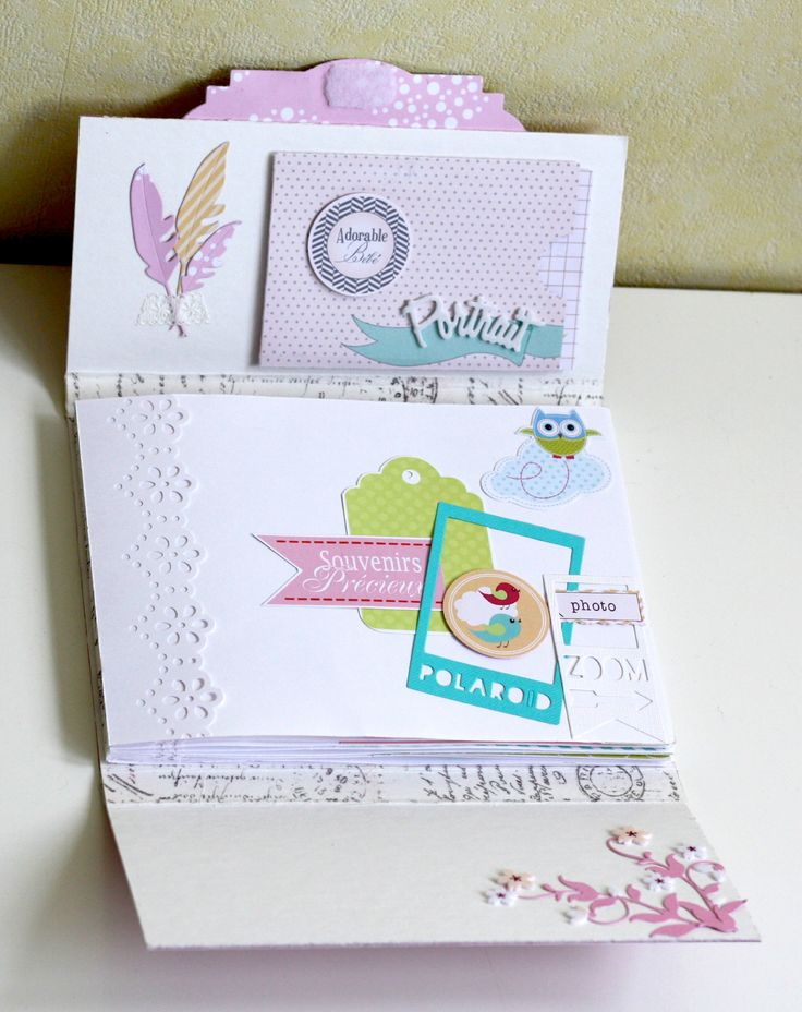 Album naissance de Mumu. Collection Douzibou de Swirlcards