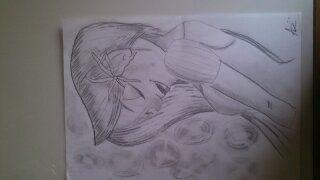 :/ Rapunzel :D Me Drawing