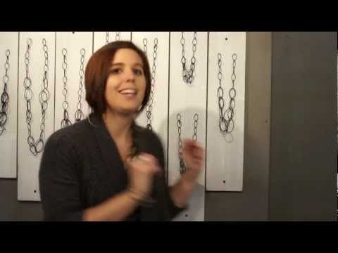behind the scenes of my trade show booth Video: how to make walls