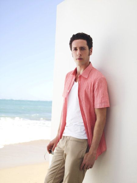 Paulo Costanzo as Evan Lawson, from USA Network's Royal Pains
