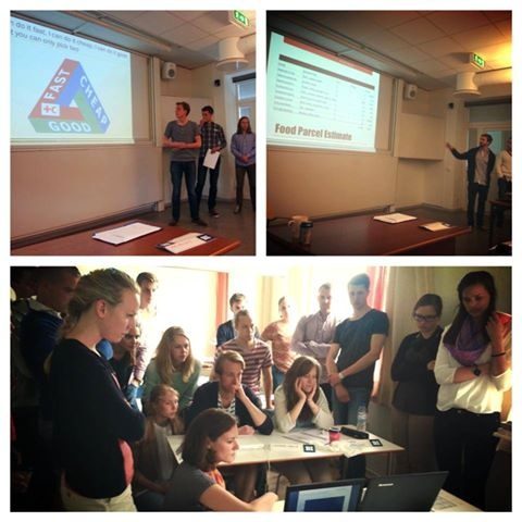 This week we wrapped up the final module for the Humanitarian Logistics master's course at Lund University!