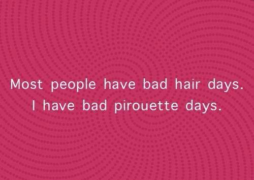 Like every day.. Unfortunately bad hair days too lol...