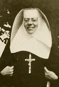 Saint Katharine Drexel, daughter of a wealthy railroad magnate, she used her fortune to help the Sioux, and to found Xavier University.