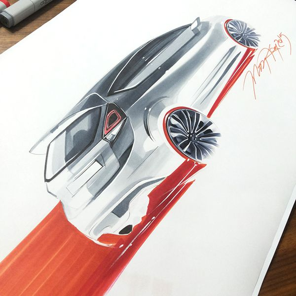 Car Design Sketching