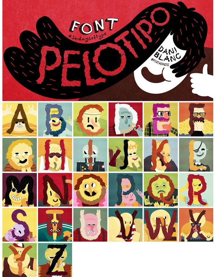 Pelotipo-font