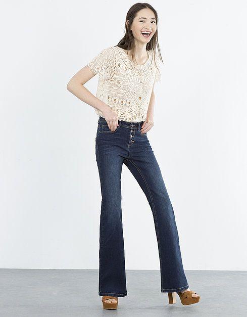 Jeans Bootcut skinny | JEANS | SHOP ONLINE BLANCO.COM