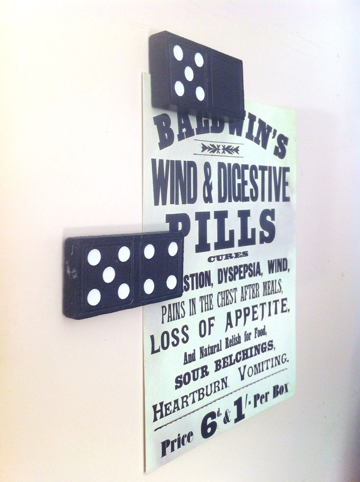 Easy handmade Christmas presents! My go to present because everyone needs a set of these!! DIY Dominoes Fridge Magnets