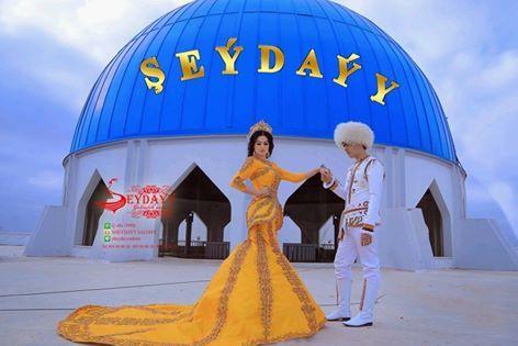 Türkmenistan Türkmenleri Düğün Giysileri