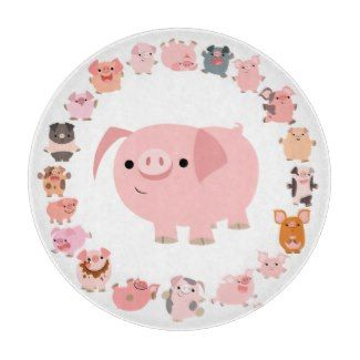 Pig Kitchen Decor Charming Cutting Boards Pig Kitchen