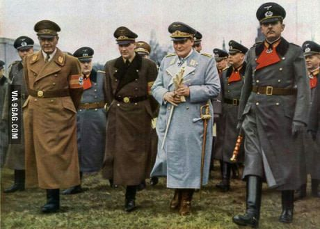 Fun fact about these german uniforms is that they were designed by the popular brand: Hugo Boss