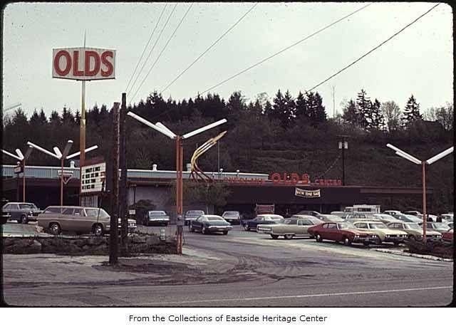 Olds Dealership 1969