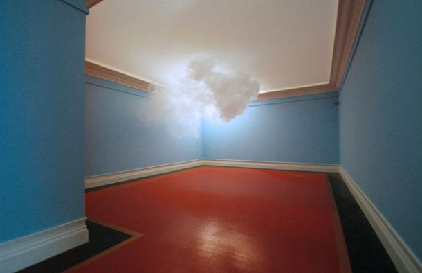 Indoor cloud. Apparently under the right conditions clouds can actually form indoors, which artist Berndnaut Smilde takes advantage of to snape some extremely surreal photographs.