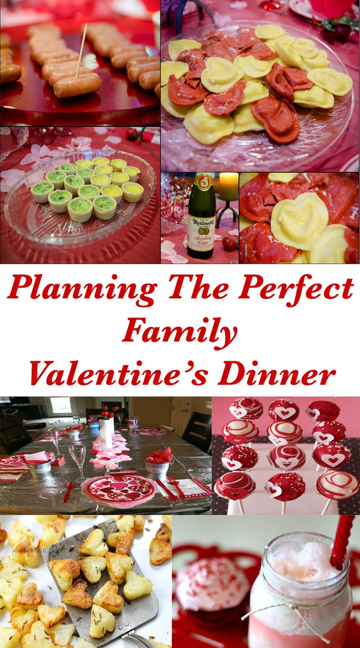 Emmy Mom--One Day at a Time: Planning The Perfect Family Valentine's Dinner