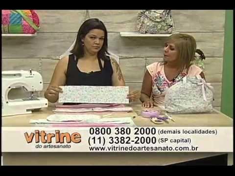Bolsa Frasqueira com Renata Silva - Vitrine do Artesanato na TV