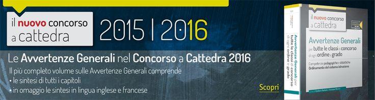Simulazioni Collettive prova scritta concorso a cattedra 2016