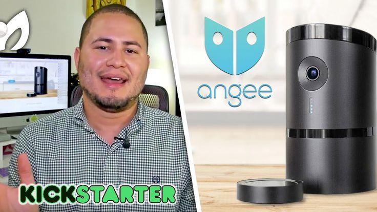 Les presento a #Angee (Avanzado Sistema Seguridad Inteligente) @KickStar...