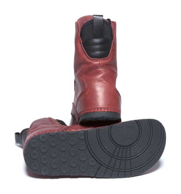 Troop Leather. Verify insole/arch support is removable.