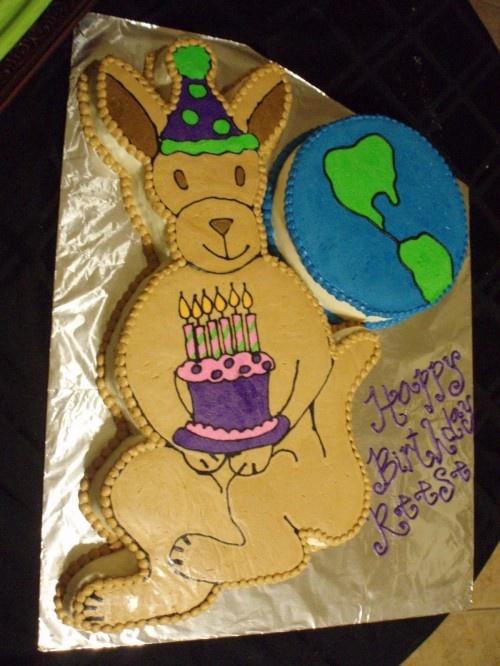 17 Best images about Kangaroo cake on Pinterest