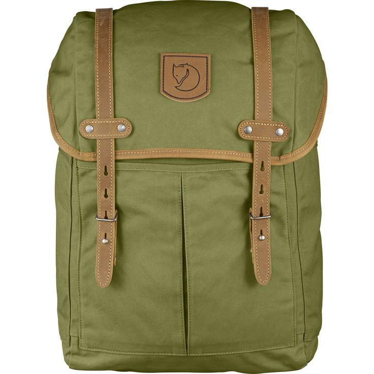 Fjällräven Rucksack No. 21 Medium Backpack   Meadow Green