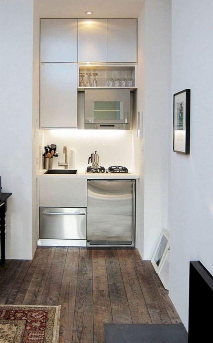 45+ tolle kleine smarte küchen-designideen - küche - lugares
