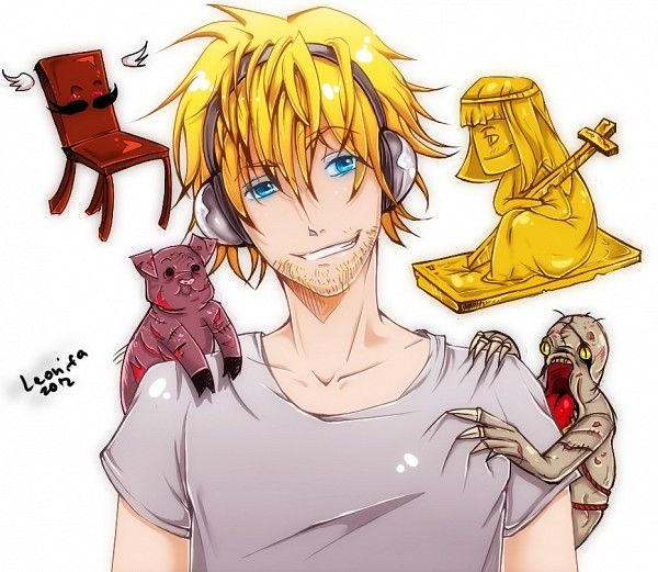 For some reason this fan art is really turning me on right now lol.... Dat face