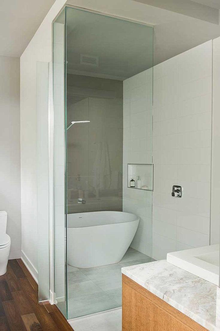 Die 25 besten ideen zu glastrennwand auf pinterest - Badewanne glastrennwand ...
