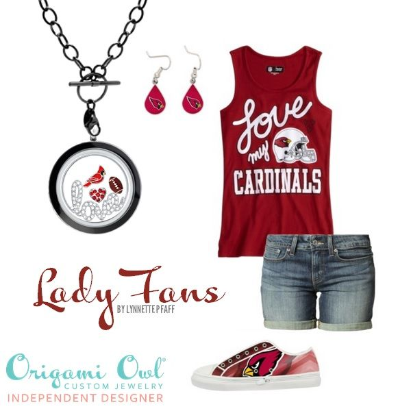Build an Origami Owl Living Locket to support for favorite football team! Calling all Arizona Cardinals fans!  www.ALocket2Love.OrigamiOwl.com https://www.facebook.com/ALocket2Love Designer # 39868