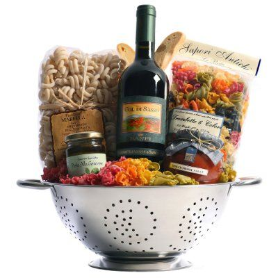 Tuscan Trattoria Italian Food and Wine Gift Basket