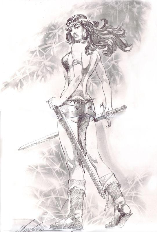 Tara Warlord Comic Art Mike Grell Comic Art Comics