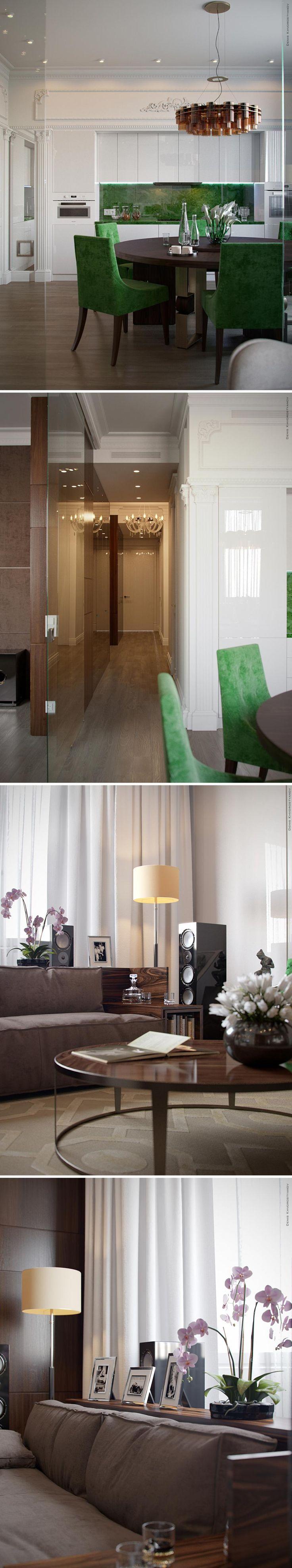 Кухня/гостиная - Галерея 3ddd.ru