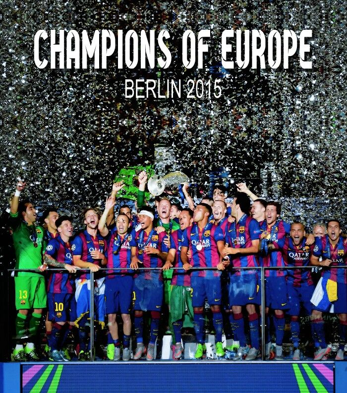 Barça, Champions of Europe,