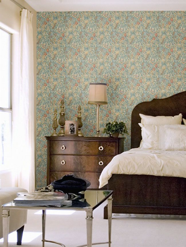 Golden Lilly - http://www.wallpaperdirect.com/au/products/morris/golden-lily/82999