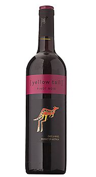 Yellow Tail Wine Pinot Noir - delighted and surprised by the delectability of this wine ... lovely in the mouth.