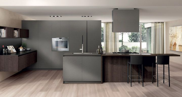 FiloAntis33 - The elegance of the evident grain of materia oak and the naturalness of ecomalta.