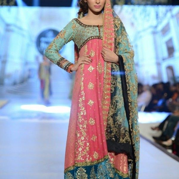 Pakistani wedding outfit PBCW 2014 by Teena Derwani