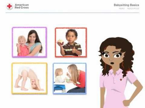 Red Cross Babysitting Basics Online Course: Overview - fee based, an option based for those who cannot attend classroom course