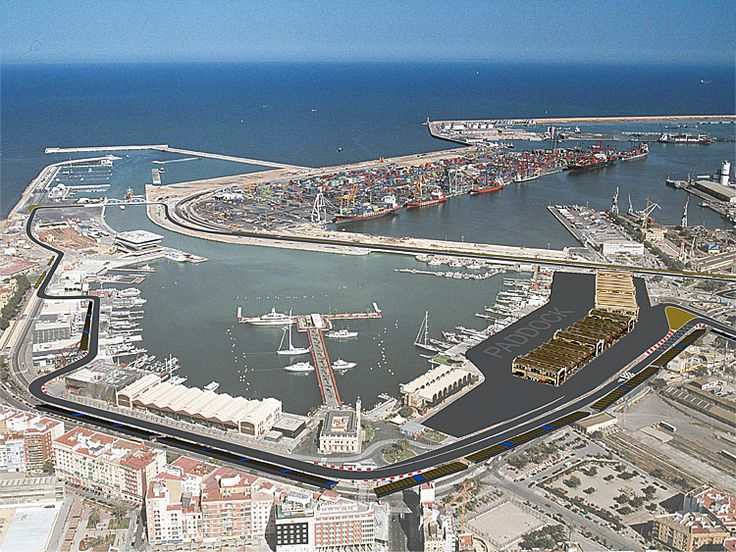 Formula 1 - circuito urbano, Valencia!