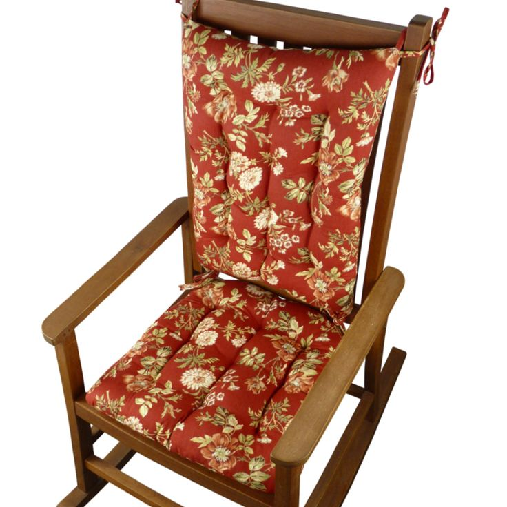 Red Rocking Chair Cushions ~ Images about products on pinterest chair pads usa