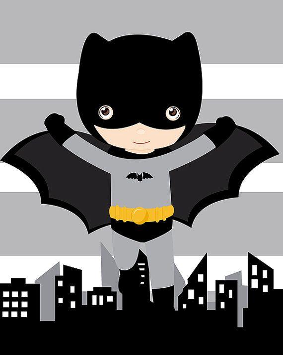 Batman wall art superhero wall art print shipped to your