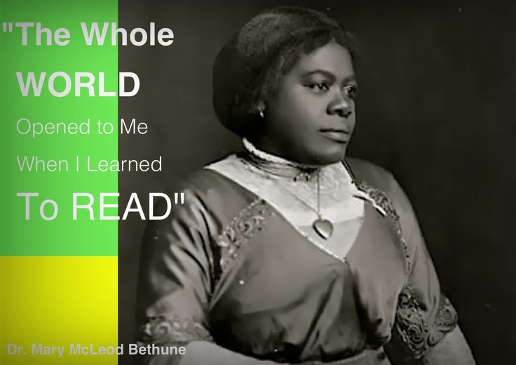 bethune single girls Mary mcleod bethune achieved her greatest recognition at the washington, dc townhouse that is now this national historic site the council house was the first headquarters of the national.