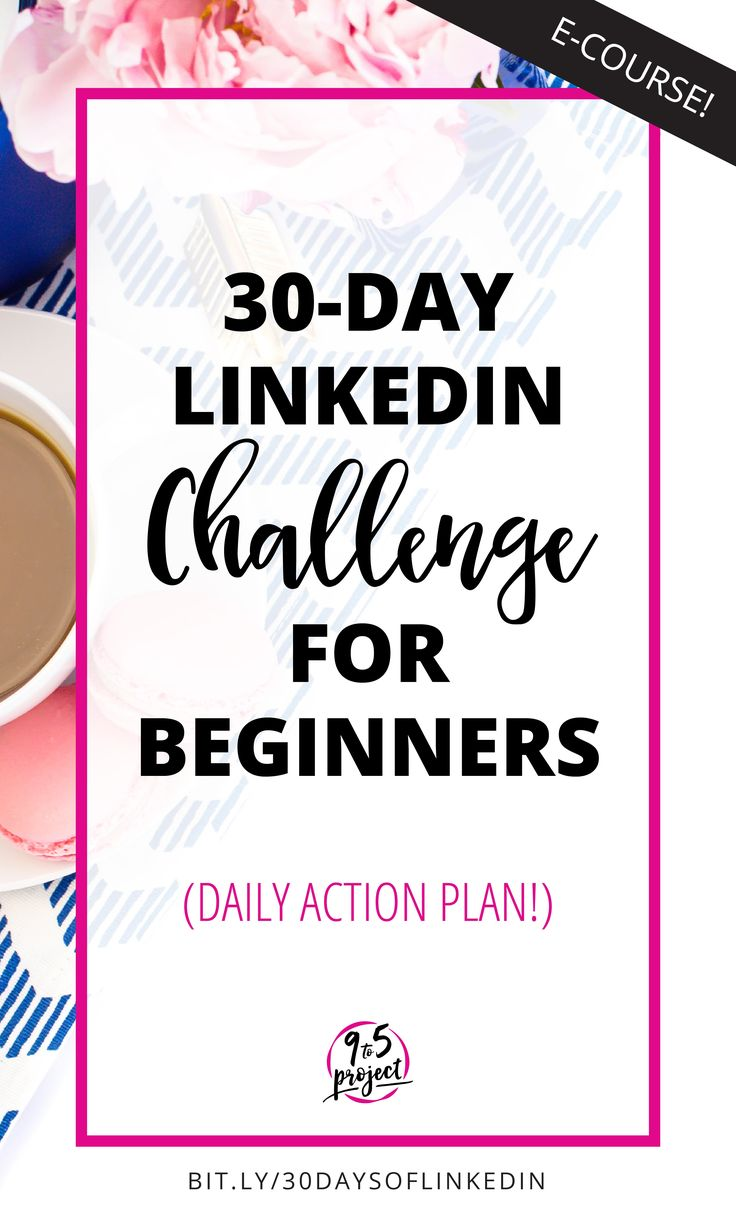 This 30-Day LinkedIn Challenge will help you tame the LinkedIn beast to get your profile and connections in order for your job search. Includes a daily action plan for you to follow!