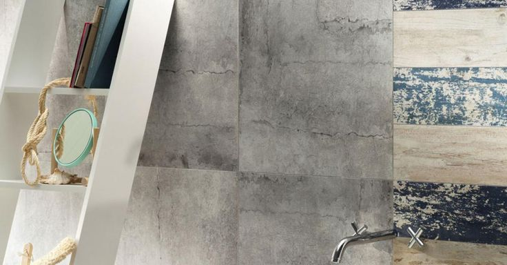 Cement Worn | Tubądzin #interior #decor #home #bathroom #tubadzin