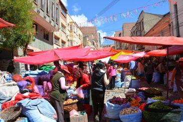 market, La Paz, Bolivia